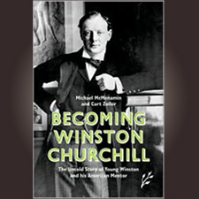 Becoming Winston Churchill Hardcover